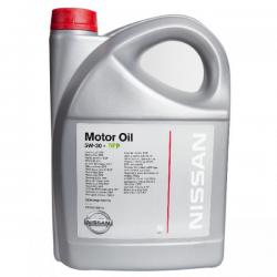 Масло моторное Nissan Motor Oil 5W30 DPF 5л.