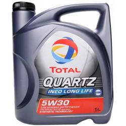 Моторное масло TOTAL Quartz INEO Long Life 5W30 5л